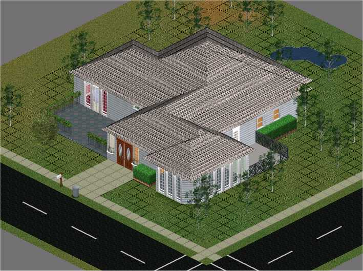 Sims 1 House Plans House And Home Design